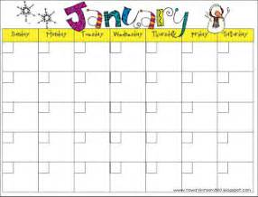 elementary school calendar template free one subject lesson plan calendar template