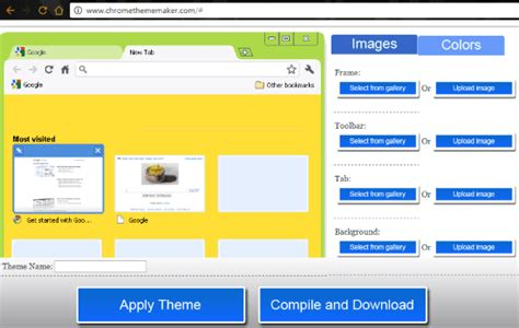 theme maker online free 8 free websites to get chrome themes