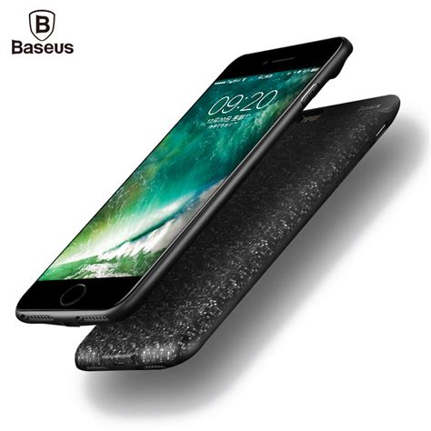 Baseus For Iphone 6 Plus baseus charger for iphone 8 7 6 6s plus 2500 3650mah
