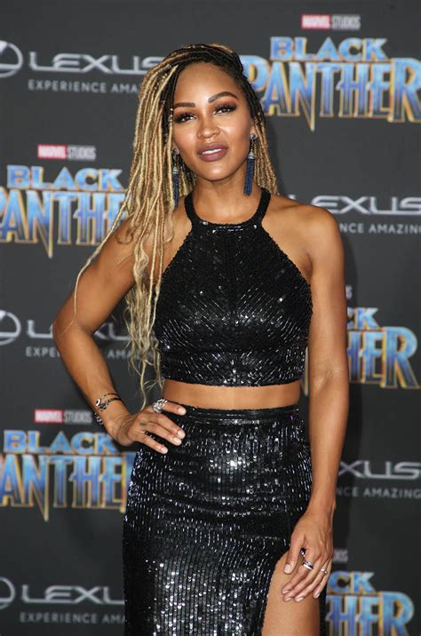 meagan good  black panther film premiere sandra rose