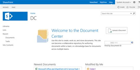 sharepoint 2013 document template sharepoint 2013 document management ii collab365