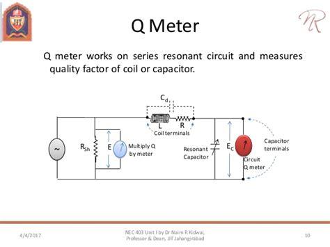 capacitor q factor equation ac bridges inductance and capacitance measurement