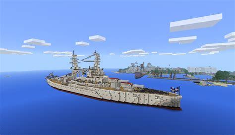 minecraft ww1 boat wwii naval base 1 1 2 600 downloads battleship