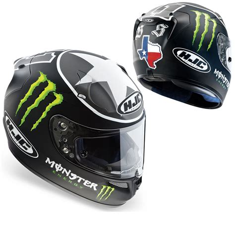 monster energy motocross helmet for sale hjc r pha 10 ben spies monster energy moto gp race replica