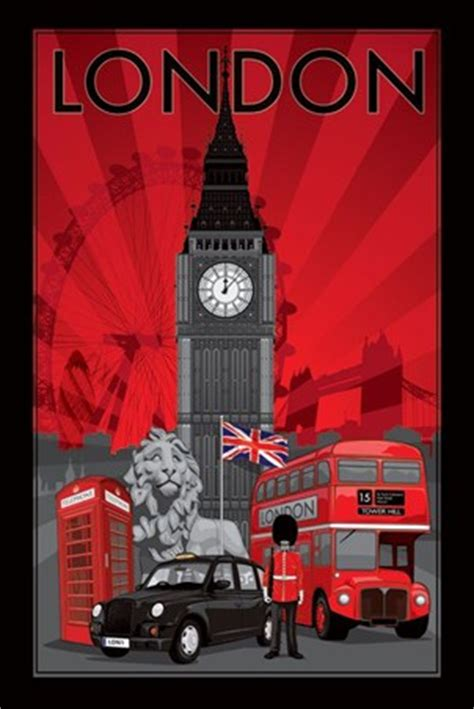 Home Interior Prints by Decoscape London Poster Buy Online