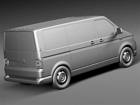 volkswagen models van volkswagen transporter panel van t6 2016 3d model max