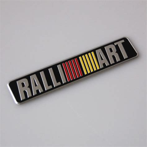 Emblem Tempel Ralliart Aluminium popular ralliart emblem buy cheap ralliart emblem lots from china ralliart emblem suppliers on