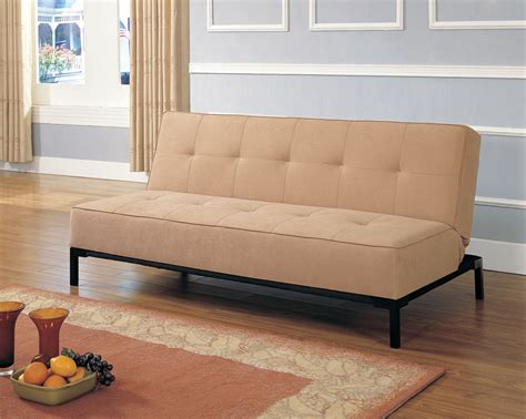 homelegance futon homelegance microfiber futon sofa