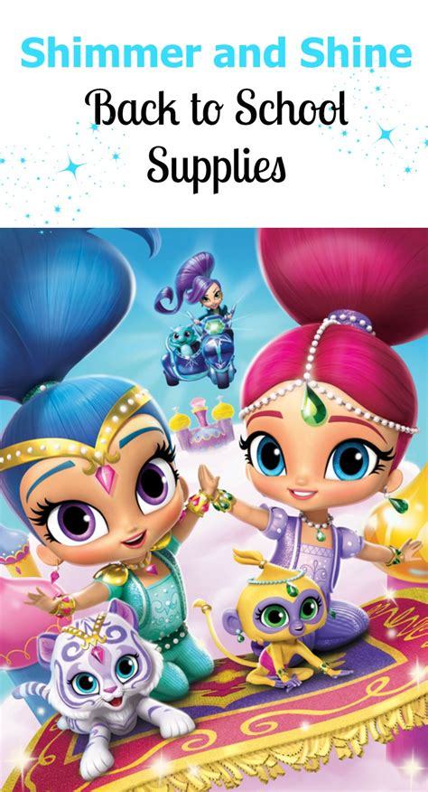 Shimmer And Shine Thermos Funtainer shimmer and shine back to school supplies new dvd