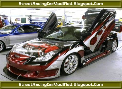 custom paint colors for cars custom toyota celica sports car with graphics paint