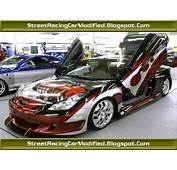 Custom Toyota Celica Street Sports Car With Graphics Paint