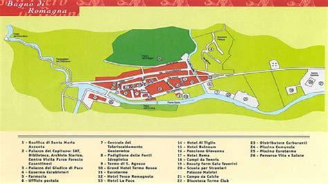 bagno di romagna mappa cartina territorio bagno di romagna stabilimento rseo