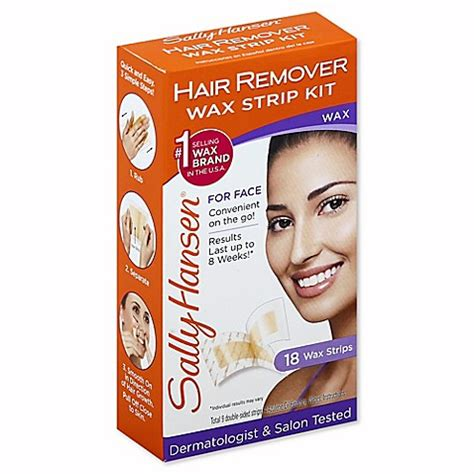 sally hansen hair remover kit 1 7 oz buy sally hansen hair remover wax kit for from