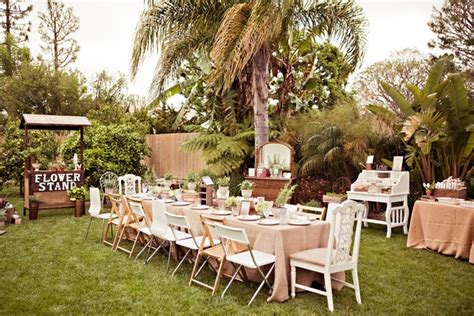Backyard Bridal Shower Ideas An Outdoor Bridal Shower Filled With And Laughter Inside Weddings