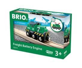 brio changing freight battery engine brio