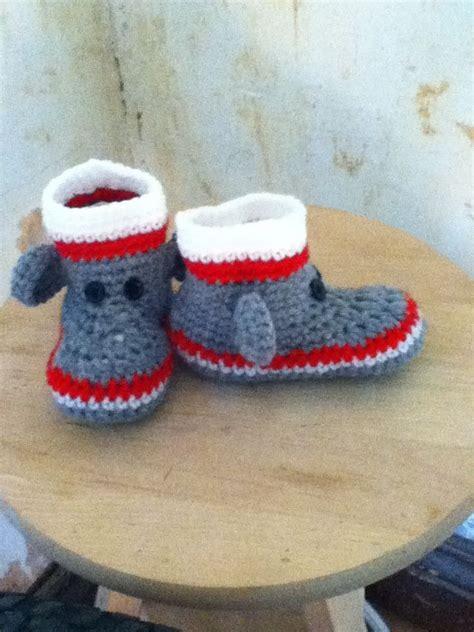 sock monkey slippers 17 best images about crochet sock monkey patterns on