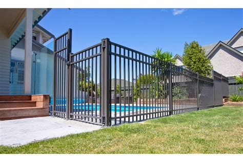 contemporary fence contemporary fence and gate systems by juralco aluminium