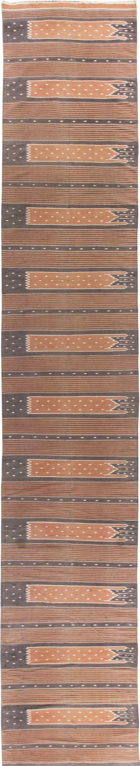 Dhurrie Runner Rugs Vintage Indian Dhurrie Runner Bb6285 By Doris Leslie Blau