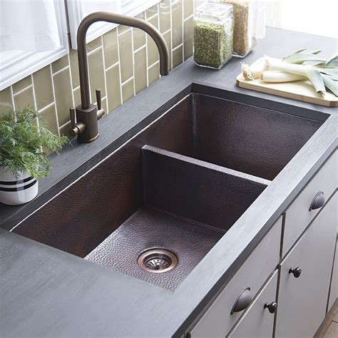 kitchen double sink cocina duet pro double bowl kitchen sink native trails