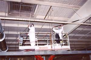 service specializes in industrial cleaning projects factory overheads ceiling dust removal