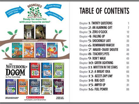 battle of the a branches book the notebook of doom 13 books the notebook of doom 8 charge of the lightning bugs by