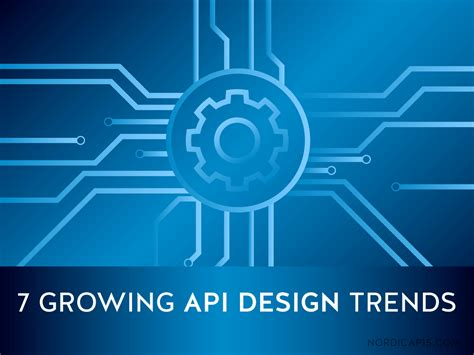 7 design trends from the last year with infographic 7 growing api design trends nordic apis