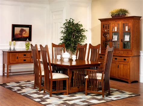 Mission Dining Room by Bedroom Furniture Oak Collection Furniture