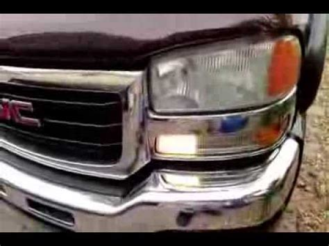 how to change day time running light bulb silverado sierra