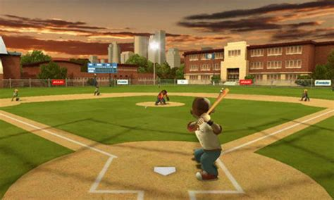 get to swing the pine with backyard sports sandlot