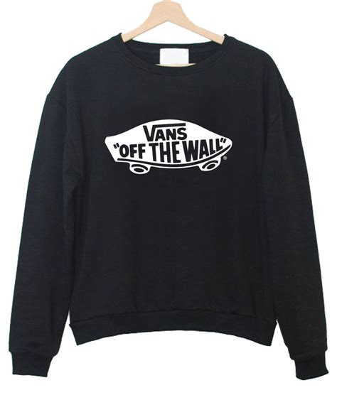 Hoodie Sweater Jumper Vans Of The Wall vans the wall sweatshirt 2