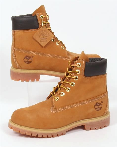 6 inch boots timberland icon 6 inch premium boots wheat nubuck mens