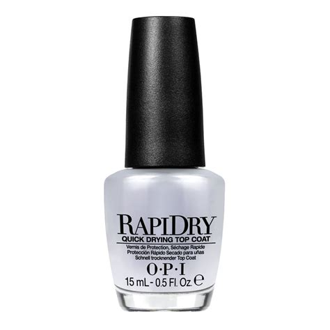 O P I Top Coat rapidry top coat sunso day spa