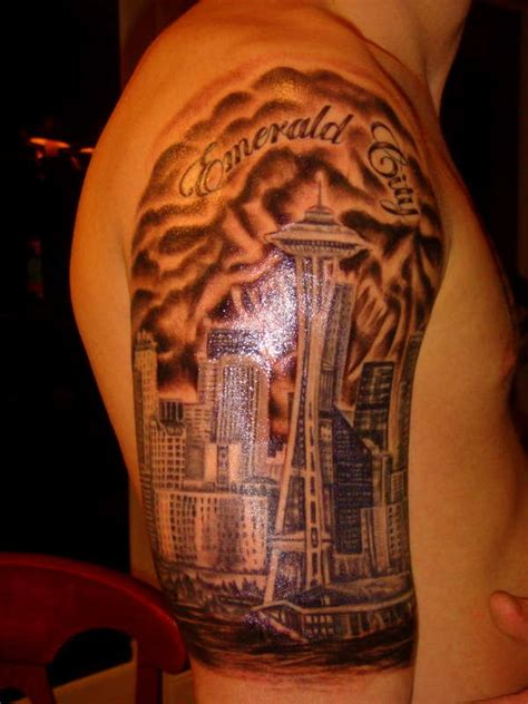 seattle tattoo designs 13 seattle skyline designs seattle skyline
