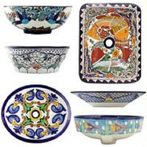 mexican bathroom sinks mexican painted sinks images