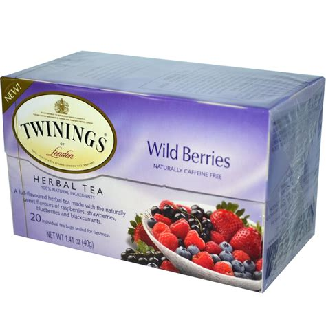 Twinings Detox Tea Weight Loss by Twinings Herbal Tea Berries Caffeine Free 20 Tea