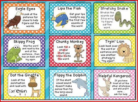 Superb Super Church Curriculum #10: Reading-strategies-for-kindergarten-posters-700x520.jpg