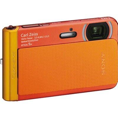 buydig.com sony dsc tx30/b orange 18.2mp water, dust