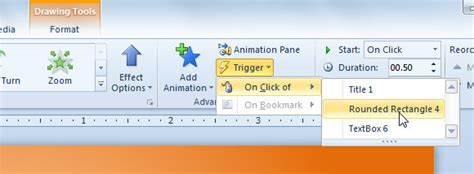 Tutorial Trigger Powerpoint | how to use triggers in powerpoint 2010
