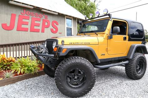 Slidell Jeep Used 2003 Jeep Wrangler Rubicon 4wd 2dr In Slidell La At