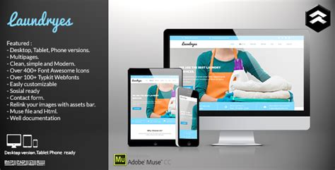 laundry website template laundryes laundry business muse template by rometheme