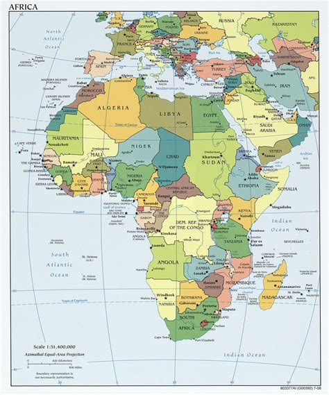 africa map detailed memographer travel photo journal