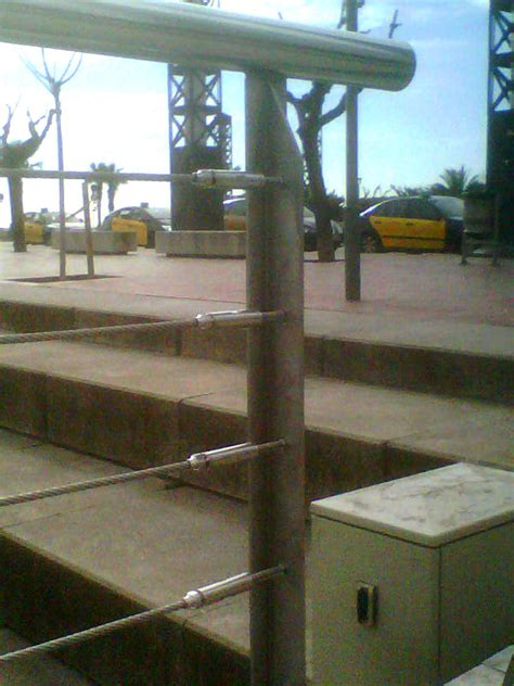 barandilla cable acero barandillas de cables de acero inoxidables