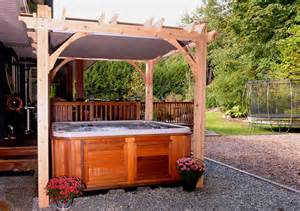8 X 8 Pergola by Backyard Pergola 8x8 Breeze Spa Shelter Outdoor Living