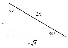 don't hate on high school math!: special right triangles