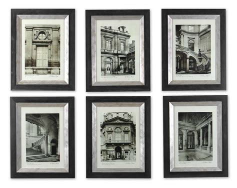 Dining Room Sets Ethan Allen by Uttermost Paris Scene Framed Art Set 6 33430