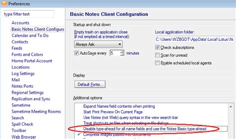 section 8 address lookup enable type ahead for lotus notes address field super user