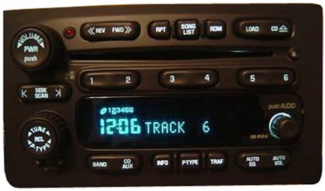 2003 2004 2005 gmc envoy factory stereo 6 disc changer cd
