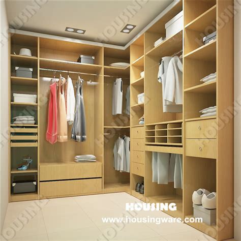 modern bedroom wardrobe walk in closet design in