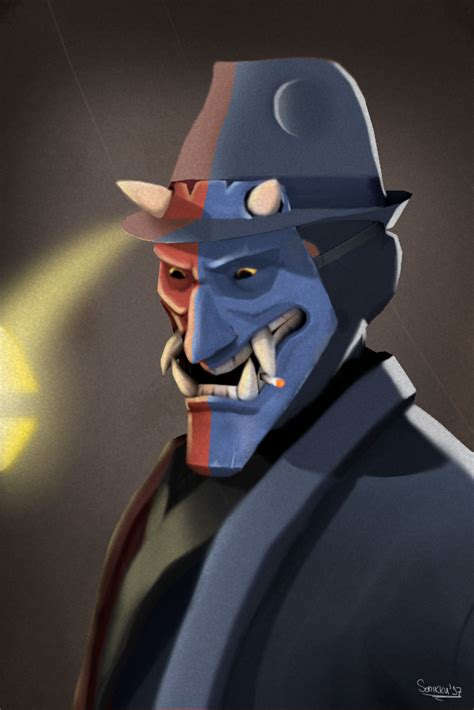 Killers Deception And Spies Oh My by I Did My In The Tf2 Portrait Style But With A