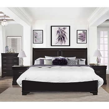 costco caprice 5 piece king bedroom set furniture caprice 4 piece king bedroom set